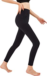 GSOTOA Yoga Pants for Women with Pockets High Waisted Leggings with Pockets for Women Workout Leggings for Women