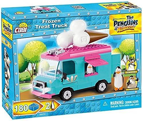 echa un vistazo a los más baratos COBI Penguins of Madagascar Ice Cream Truck Truck Truck Building Kit by COBI  entrega gratis