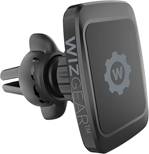 Magnetic Phone Car Mount, WizGear Universal Twist-Lock Air Vent Magnetic Car Phone Mount Holder, Phone Holder for Car...
