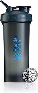 Blender Pro32 Shaker Bottle with Loop Handle, Grey/Blue, 1.3 Litre Capacity