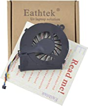 Eathtek Replacement CPU Cooling Fan for HP Pavilion g4-1000 g6-1000 g7-1000 series, Compatible with part number MF75120V1-C170-S9A (Note:This fan is 4 wires. Not fit HP G6-2000 series laptop!)