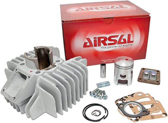 Airsal Cylinder Kit Sport 50cc Power For Tomos A35 A38b S25 2 Auto