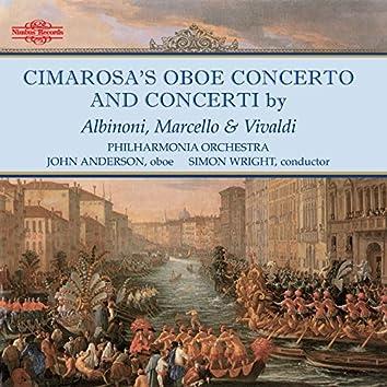 Cimarosa, Albinoni, Marcello & Vivaldi: Oboe Concertos