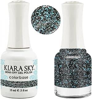 Kiara Sky Matching Gel Polish + Nail Lacquer, Vandalism, .5 fl. ozz