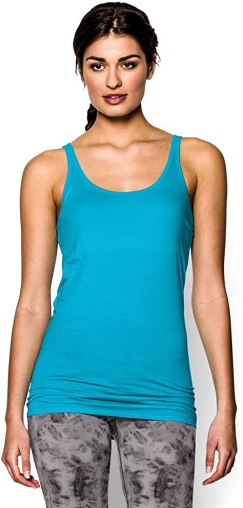 Under Armour Ranking TOP9 Direct stock discount Women's Ua Long and 4-6 Tank Top Lean Turquoise
