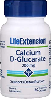 Calcium D-Glucarate 200 mg Life Extension 60 VCaps