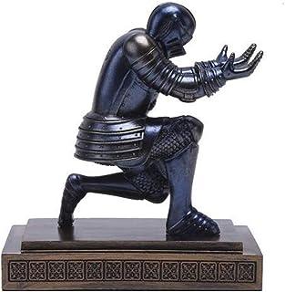 PPCP Knight Status Soldier Figurine Pen Holder Pencil Stand Desk Organizer Office Accessory Figurine Sculpture Miniature H...