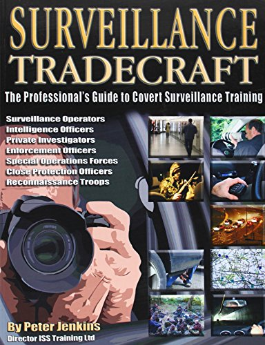 Price comparison product image Surveillance Tradecraft: The Professional's Guide to Surveillance Training