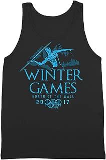 Winter Games 2017 GoT Thrones Night King Mens Tank Top