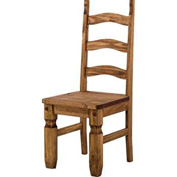 Brasilmöbel Holzstuhl Mexiko Brasil Esszimmerstuhl Klassik Pinie Massivholz Echtholz Variante & Farbe wählbar Stuhl Holz Wohnzimmerstuhl