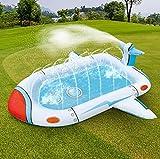 ZCFGUOI Juguete inflable 3 en 1 para rociador de piscina, juguete para niños, juego de agua de tiburón, piscina al aire libre, parque acuático, juguetes de agua para niños y niñas y regalos de bebé