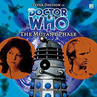 Doctor Who - The Mutant Phase audiobook cover art