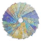 288 Stück Nagelaufkleber Schablonen, MwooT Nagelaufkleber Vinyls Nail Art Maniküre Schablone DIY Nagel aufkleber, 24 Blatt, 96 Designs