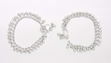 indian silver anklets for babies