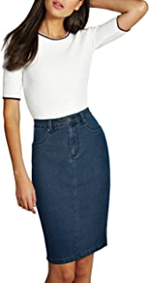 jean skirt banana republic