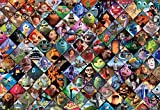 Ceaco Disney/Pixar Clips Jigsaw Puzzle, 2000 Pieces Multi-colored, 5""
