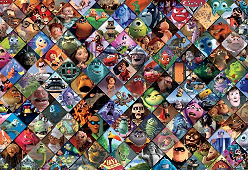 Ceaco Disney/Pixar Clips Jigsaw Puzzle, 2000 Pieces Multi-colored, 5'