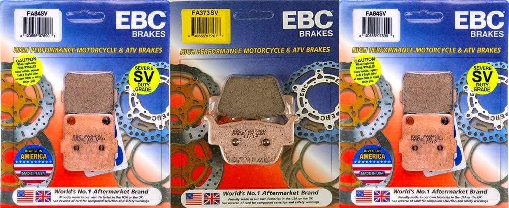 EBC FA84SVx2 Front Luxury goods FA373 rear Duty Severe Semi-Metall 40% OFF Cheap Sale Sintered