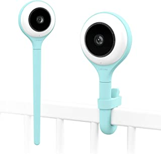 Lollipop camera cámara para bebés monitor para bebé detección de llanto multistreaming visión nocturna soporte para pared monitor para bebés wifi detección de cruce (turquesa)
