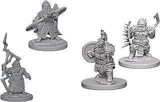 Pathfinder Battles Deep Cuts Miniatures Bundle: Dwarf Male Sorcerer W4 + Dwarf Male Barbarian W4