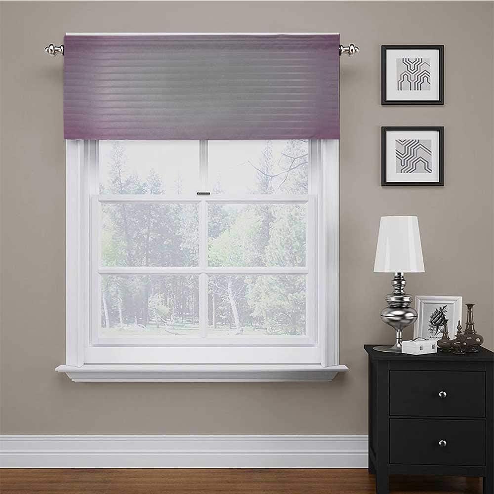 carmaxs Window Curtain Valance Modern Bedroom Li 爆買いセール アウトレット Living Room for