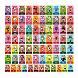 Animal Crossing New Horizons 72 PCs Selected Villagers 1.38'' X 0.79'' NFC Cards for Nintendo Switch Wii 3DS DS and AC Leaf and Merch