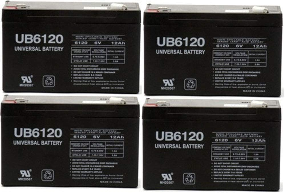 supreme Universal Power Long-awaited Group 6V 12Ah for Battery Compatible Holophane 9
