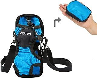 دارنده بطری آب OYATON با بند شانه قابل تنظیم ، کیف حمل و نقل حمل بطری قابل حمل به منظور ذخیره سازی آسان ، ایده آل برای پیاده روی ، پیاده روی ، یوگا ، سالن بدنسازی ، کایاکینگ و مسافرت درون کیسه است.