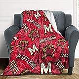 University of Maryland Fleece Blanket, Anime Cartoon Warm Ultra-Soft Throw Blanket, Fashion Home Decoration Blanket 40''×50''
