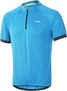 ARSUXEO Men's Cycling Jerseys Short Sleeves MTB Bike Shirt 635