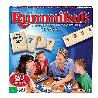 Pressman Toy Rummikub Rummy Tile Game