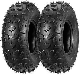 Set of 2 MaxAuto ATV Tires 19x7-8 19x7x8 Mini Bike Tires 4PR