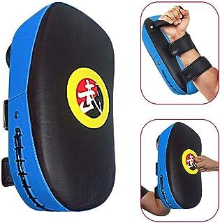 1Pcs Taekwondo Kick Pad PU Muay Thai Pads MMA Karate Kick Pads Kickboxing Training Pads Martial Arts Punching Pads Leather...