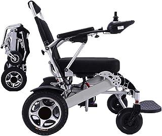 WISGING 2020 Lichtgewicht Opvouwbare Draagbare Elektrische Rolstoel Deluxe Krachtige Dubbele Motor Compacte Mobiliteitshul...
