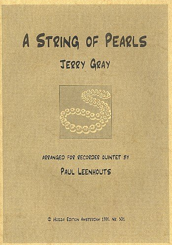 A String of Pearls: For 5recorders (aattb)