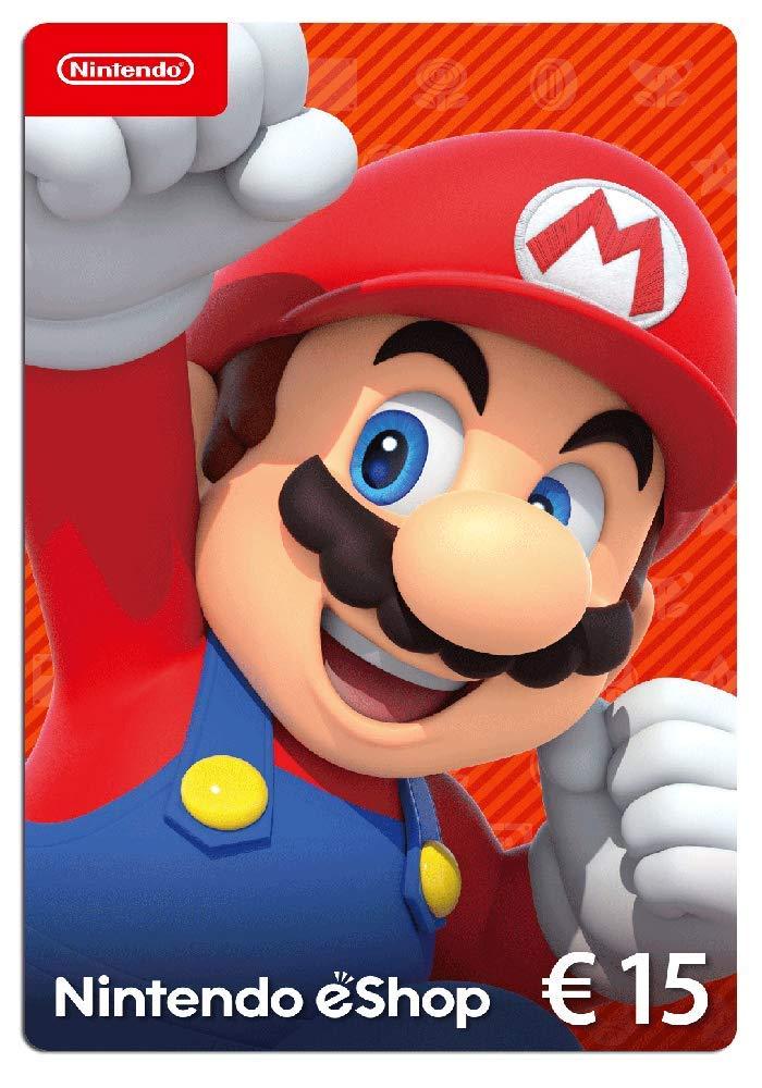 Nintendo eShop Tarjeta de regalo 15 EUR - Código de descarga: Amazon.es: Videojuegos