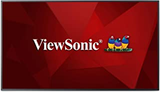 ViewSonic CDE5510 55 Inch 4K Commercial Display with Quad-Core CPU, Android SoC, HDMI, DVI, VGA
