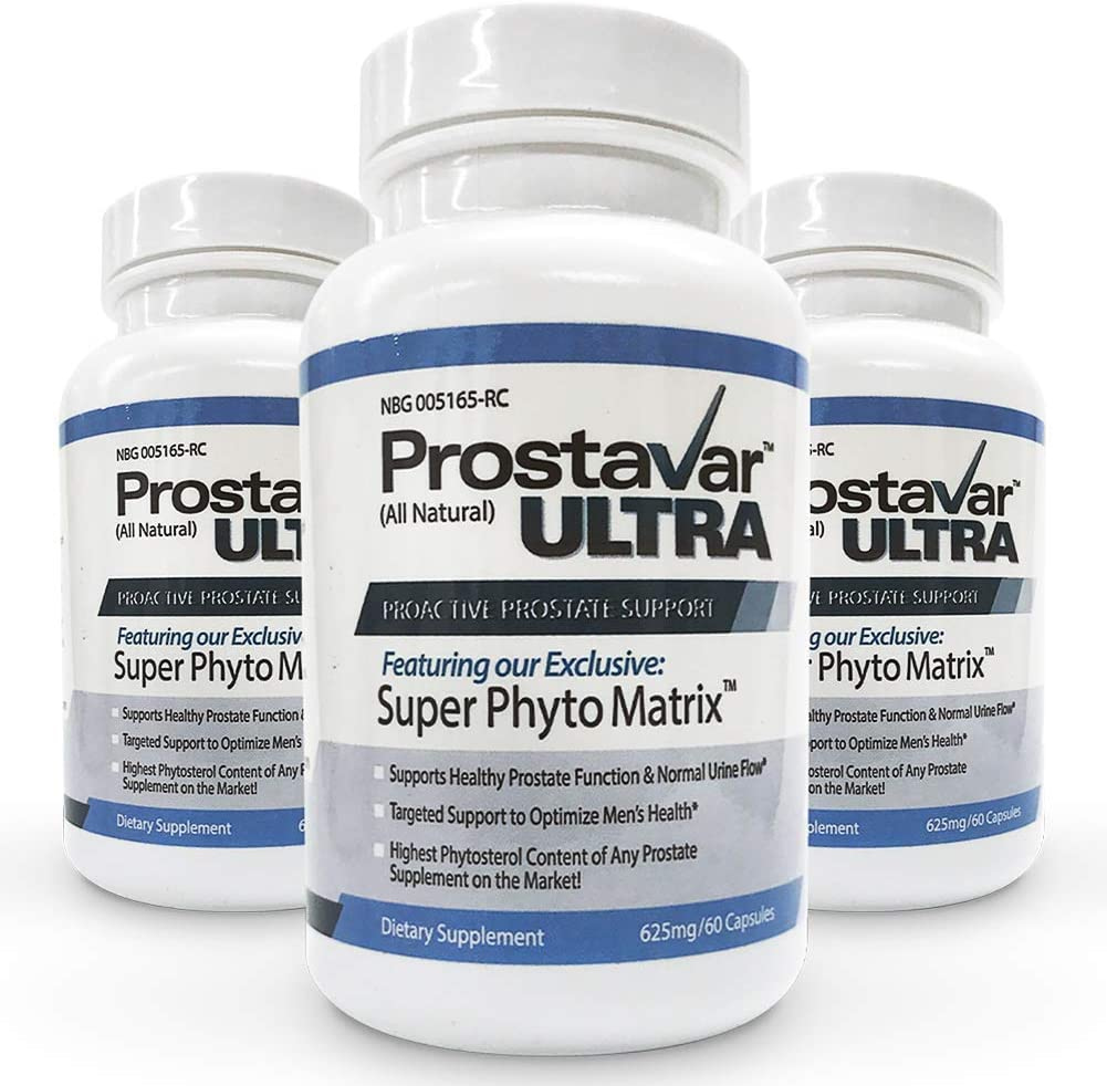 3 Bottle NEW before selling In a popularity New Improve From Maker Ultra Pros Prostavar of Original