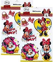 Colore: Rosso 31 x 31 x 0,5 cm Adesivo in Schiuma Eva con Minnie Disney 3D Crearreda 24804