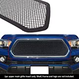 APS Compatible with 2016-2017 Toyota Tacoma Upper Black Mesh Grille Insert TC6358K