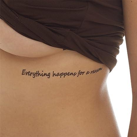Rippen schriftzug tattoo Tattoo Rippen