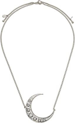 Lucky Brand - Crescent Moon Pendant Necklace