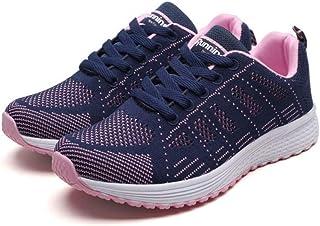 XL_nsxiezi Zapatillas Deportivas Transpirables para Mujer.