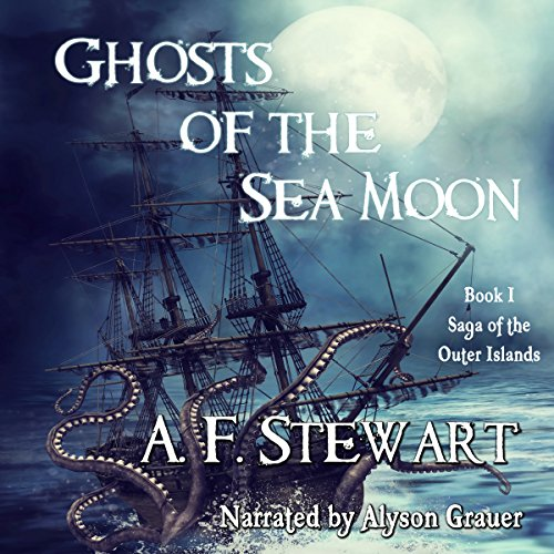 Ghosts of the Sea Moon audiobook cover art