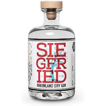 Siegfried Rheinland Dry Gin   Weltweit ausgezeichneter Premium Gin   Micro-batch Gin mit 18 Botanicals   Regionalität und Weltklasse   41% 500ML