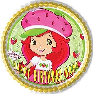 Strawberry Shortcake - Edible Cake Topper - 10