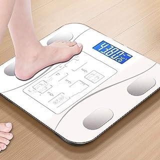 Báscula de baño digital 26-26cm mini escala electrónica, de alta precisión, pequeño error, de respuesta rápida, conveniente for la medición de grasa corporal báscula peso corporal (Color : C)