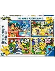 Ravensburger 6929 Pokémon puzzel 4 x 100 stuks