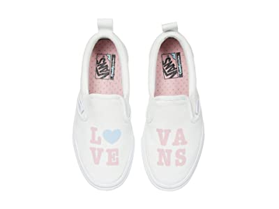 Vans Kids Autism Awareness ComfyCush Slip-On PT (Big Kid) ((Autism Awareness) Sensory/Pink Icing) Girls Shoes