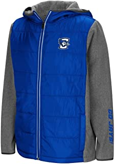Colosseum Youth Creighton Bluejays Full Zip Puff Jacket